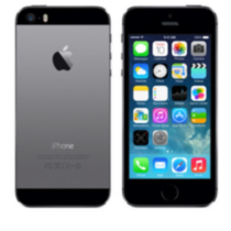 iPhone 5S 16GB Bell Mobility Grey