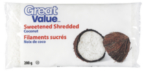 Great Value Shredded Coconut