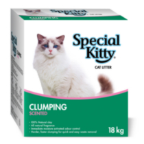 Special Kitty Clumping Scented Cat Litter 18 kg