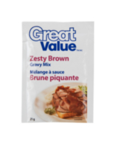 Great Value Zesty Brown Gravy Mix