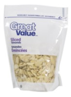 Great Value Sliced Almonds