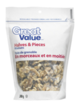 Great Value Halves & Pieces Walnuts