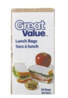 Great Value Lunch Bags