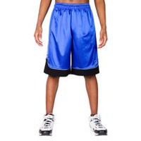 Short de basketball à bloc de couleurs All Court AND1 pour hommes EBONY HEATHER M
