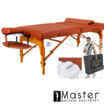 "Volante Heated Top LX 31"" Portable Massage Table Package"