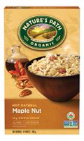 Natures Path Organic Hot Oatmeal Maple Nut