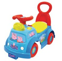 Peppa Pig Light and Sounds Musical Ride On