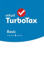 Intuit TurboTax Basic Software
