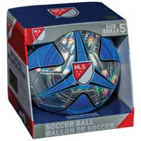 Franklin Sports MLS Chrome and Blue Soccer Ball