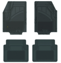 Pant Saver Custom Fit 4 Piece Ford Fiesta mats (Black)