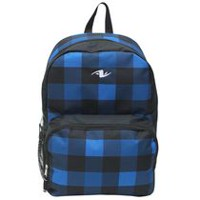 Athletic Works Basic Backpack - Blue Plaid