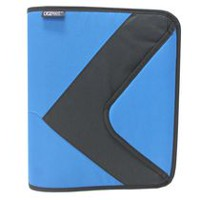 "Casemate 1.5"" 3 Ring Flap Zippered Binder"