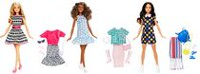 Barbie Dolls and Fashions - 3 pack
