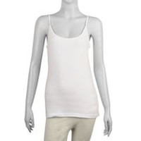 George Women's Fitted Cami White XS