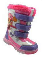 Lighted Paw Patrol Winter Boots 9