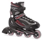 Bladerunner Pro 80 Men's Inline Skates Black/Red 9