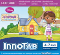 InnoTab Software- Doc McStuffins- French Version