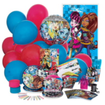 Monster High Deluxe Party Kit for 8