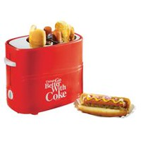 Nostalgia Electronics Coke Hot Dog Toaster