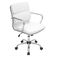 LumiSource Bachelor Contemporary Height Adjustable fice Chair