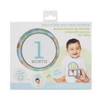 Stepping Stones Baby's First Year Boy Belly Sticker