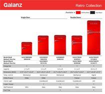 Galanz 3.1 cu ft Retro Fridge - image 8 of 8