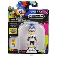 "World of Nintendo 4"" Inkling Boy Action Figure"