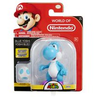 "World of Nintendo 4"" Blue Yoshi Action Figure"