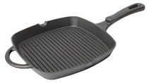 Country Cabin Round 10 Inch Cast Iron Grill Pan