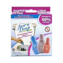 Just' a Drop Assorted Pack - Bathroom Odour Eliminator
