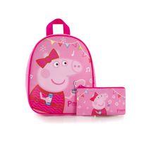 Backpack with Pencil Case- Peppa Pig (EST-JBP-PG10-19)-O/S