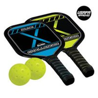 Franklin Sports Performance 2 Player Aluminum Paddle and Ball Set
