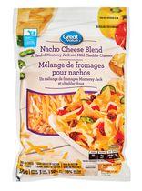 Great Value Shredded Nacho Cheese Blend