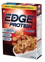 Edge with Protein Maple Flavour Nut Cluster Cereal