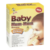 Hot-Kid Baby Mum Mum Banana Rice Rusks