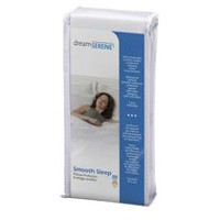 DreamSerene Smooth Sleep 210 Pillow Protector Queen