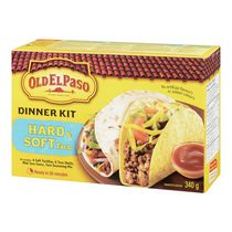 Old El Paso Hard and Soft Taco Dinner Kit