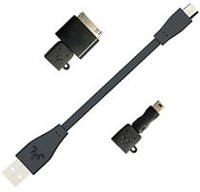USB To USB Mini/Micro Or 30 Pin Adapter Cable