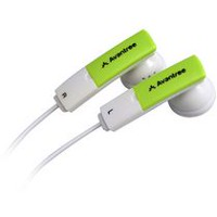 Avantree Earbuds with In-Line Microphone - White & Green