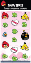 Angry Birds Flat Pack Stickers
