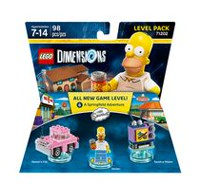 Lego Dimensions : Ensemble de niveaux « The Simpsons »
