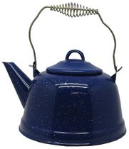 World Famous Enamel Kettle