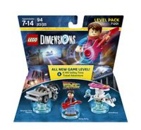 Ensemble niveau Lego Dimensions : « Back to the Future »