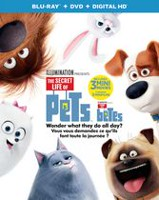 The Secret Life Of Pets (Blu-ray + DVD + Digital HD) (Bilingual)