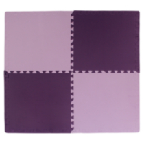 Connect-A-Mat  Purple and Lilac  4 Pack