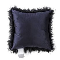 hometrends Plush Faux Fur Decorative Cushion