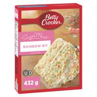 Mélange à Gâteau SuperMoist Brisures arc-en-ciel de Betty Crocker