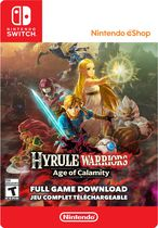 Hyrule Warriors Age Of Calamity Nintendo Switch Digital Code Walmart Canada