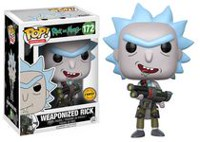 Figurine en vinyle Weaponized Rick de Rick and Morty par Funko POP!