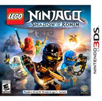 Lego Ninjago: Shadow of Ronin (Nintendo 3DS Game)